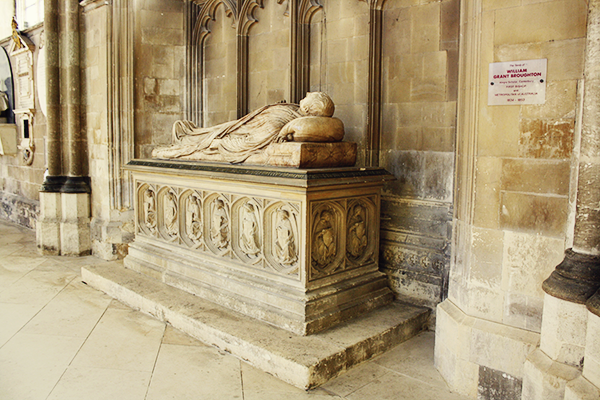 Bishop Broughton was laid to rest at Canterbury Cathedral, United Kingdom.