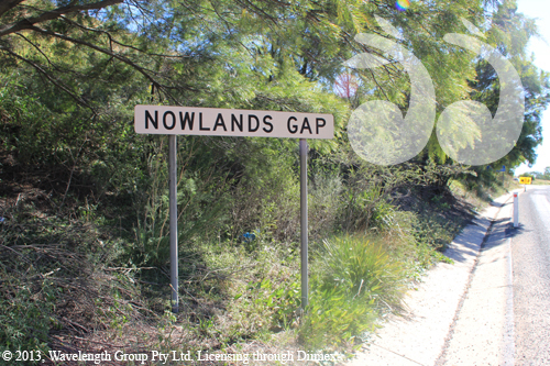 Nowland's Gap, the pass over the Murrurundi Range to the Liverpool Plains.