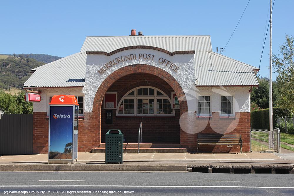 The Murrurundi post office