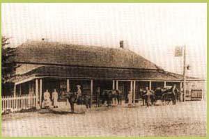 St Aubin's Inn where the first races in Scone were born