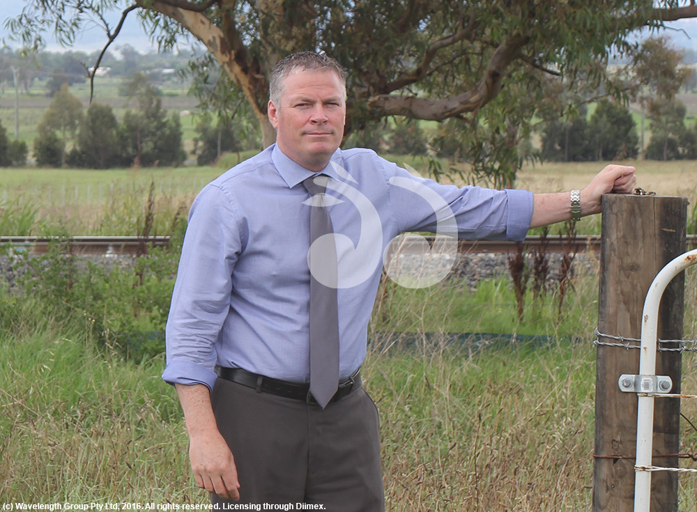Waid Crockett general manager of Upper Hunter Shire Council