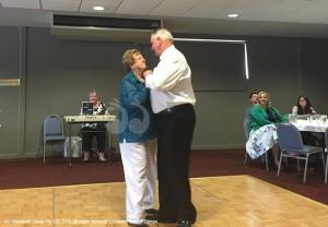Beryl and Errol Bates still dnacing 50 years later.