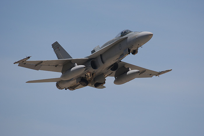 The Royal Australian Air Force will be conducting an exercise over Merriwa for two weeks, starting on Monday.