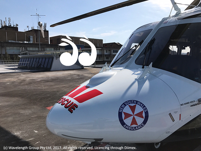 Westpac Rescue Helicopter has flown a 13 year old female patient from John Hunter to Westmead children's hospital with facial burns after an accelerant was thrown on a fire.