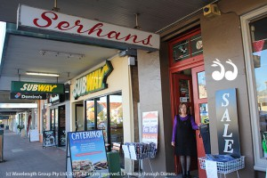 Jan Serhan hopes the doors to the iconic shop will remain open when she retires.