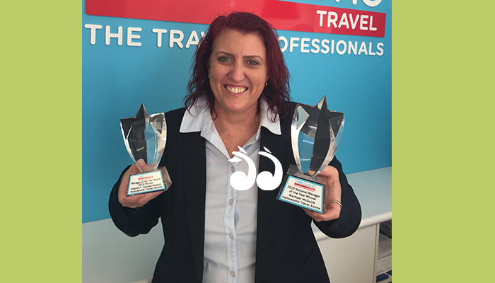 Rachael McGuirk won National Manager of the Year along with NSW Manager of the Year for 2018last week.