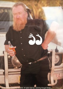 """Gary """"Gaz"""" Hall passed away north of Scone in January 1999, when his trike collided with a truck."""