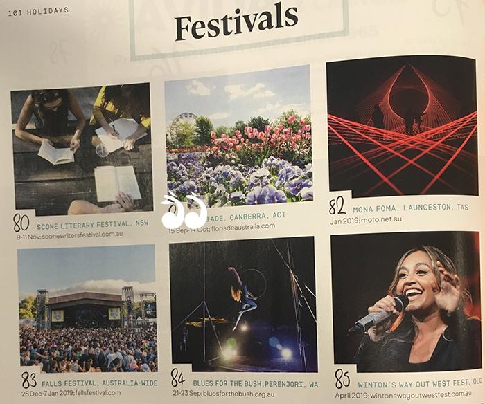 Scone Literary Festival profiled by QANTAS.
