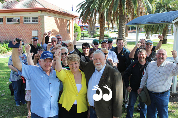 Lee Watts announced she would be the Upper Hunter candidate for the Shooters, Fishers and Farmers Party in the state election.