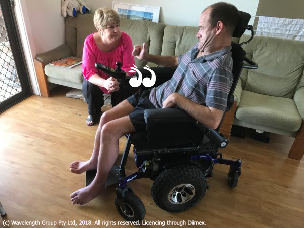 """Lee Watts wth Mark """"Bones"""" Curtis who is trying to access rehabilitation."""