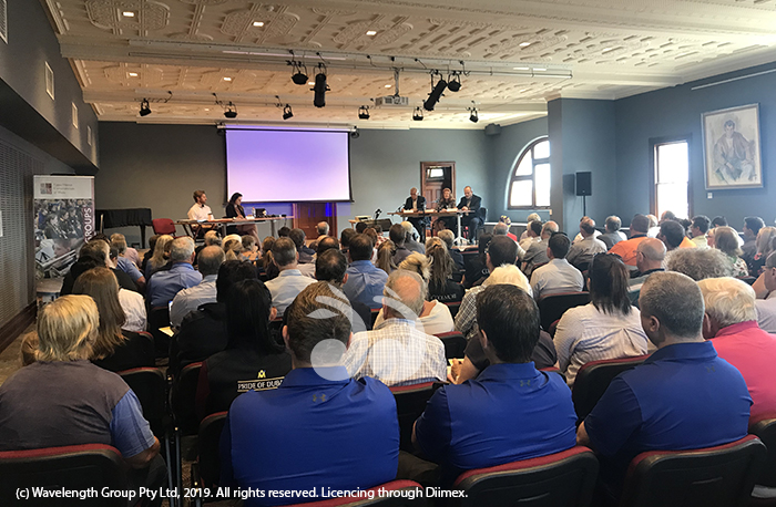 More than 150 people attended the Independent Planning Commission meeting today to speak about their perspectives on the Dartbrook modifications.