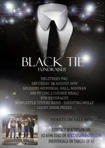 Belltrees P&C Black Tie Ball @ Soldier's Memorial Hall