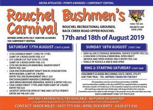 Rouchel Bushman's Carnival @ Rouchel Bushman's Carnival