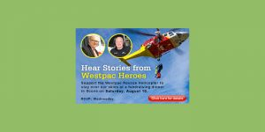 Hear from Chopper Heros - Westpac Fundraising Dinner @ Scone Sporties